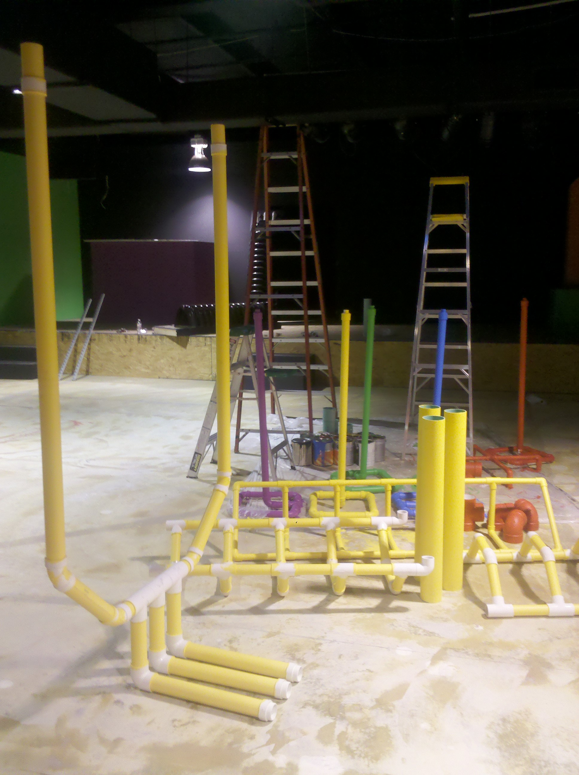 Pipes…Pipes…Pipes…Update of Our Children's Ministry Remodel