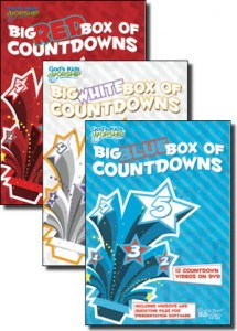 The Big Box of Countdowns Winners are... Children\s Ministry Youth