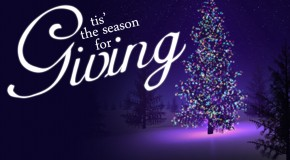 Christmas is . . . Giving!
