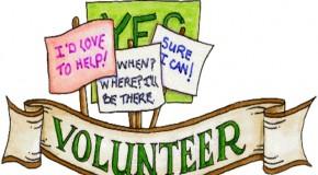 Top Ten Ways to Thank Volunteers