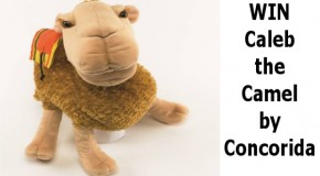 Enter to WIN a Caleb the Camel Puppet!