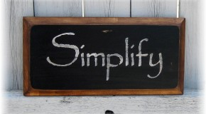 Clearing the Clutter – Simplify Your Way to Success